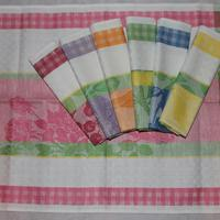 Set 7 towels Agata