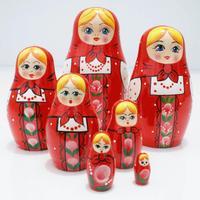 Red nesting doll